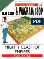 Osprey - Campaign 033 - Aspern & Wagram 1809 - Might Clash of Empires