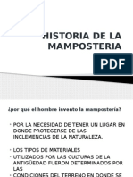 Historia de La Mamposteria