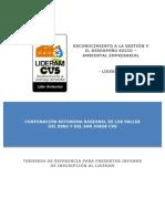 Guía Metodológica Lideram 2014