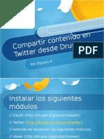 drupal+y+twitter