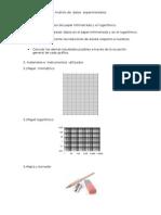 Análisis de Datos Experimentales