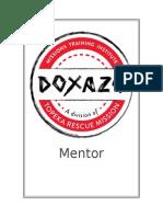 dmti mentorship packet