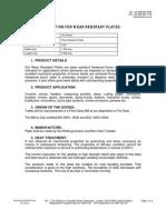SS Wear Resistant Plates- PHIONE LTD