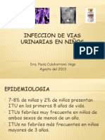 Infeccion de vias urinarias en pediatria. Baca Ortiz