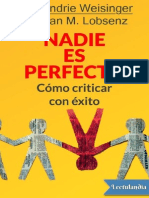 -Nadie Es Perfecto - Hendrie Weisinger
