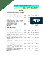 Predmjer i Predracun- Print