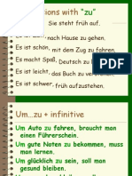 German - Expressions With ZU