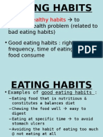 61 7 Evaluatingeatinghabits 120530224347 Phpapp02