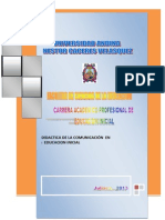 MODULO de Comunicacion Corregido 2013