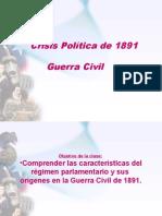 Crisis Política de 1891.Ppt