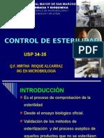 control de esterilidad en laboratorio y  centros  hospitalarios