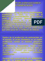 Produccion de Acido Glutamico 1