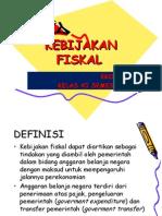 KEBIJAKAN FISKAL 1