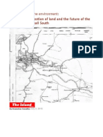Territorializing the Environment the Political Question of Land and the Future of the Displaced in Musali South