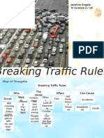 breakign traffic rules