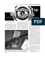 Accurizing the M1 Carbine
