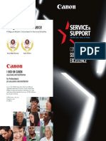 Service Support Excellence Brochure 2014
