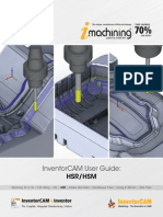 InventorCAM 2015 HSR-HSM Machining User Guide