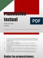 Planeación Textual