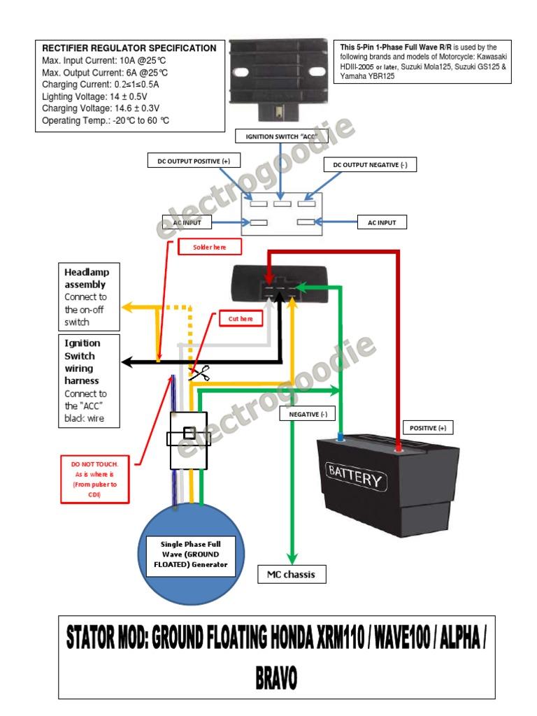Honda Wave 100r Wiring Diagram Pdf: Honda Wave 100r Wiring Harness - WIRE  Center u2022rh
