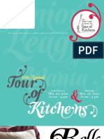 Junior League of Atlanta (JLA) Tour of Kitchens