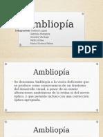 Ambliopía, tecnologia médica