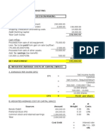 Answer to Exercises-Capital Budgeting