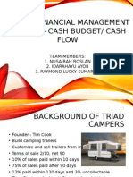 Case in Financial Management-case 14, Triad Camp