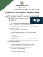 Ley 4590 Que Modifica La Ley de Arancel de Honorarios de Abogados y Procuradores