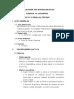 Proyecto Enfermeria Avance Gamitana