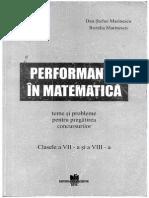 Performanta in Matematica
