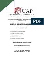 Clima Laboral Desarrollo Organizacional