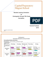 capital preparatory magnet school blended learning schedule