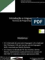 IFES TP Aula01 IntroducaoLinguagemC