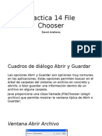 Practica 14 File Chooser Netbeans
