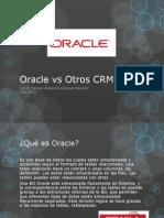 Oracle vs Otros CRM´S