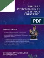 Analisis e Interpretacion de Los Estados Financieros.