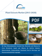 Plant extract market to take a leap from 41.5$ billion to $79.2 billion by 2020!