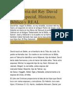 La Historia Del Rey David Tema Especial