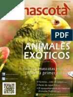 Revista Mimascota 2da Edición, Animales Exóticos compañeros especiales.
