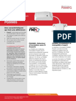 Neo Flood Detector (French) Pg9985 Spec Eng Fr