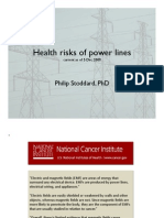 Health Risk of Power Lines