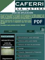Guía de Aplicación de Geosintéticos