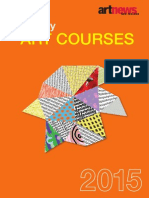 Tertiary Art-Courses 2015 Web