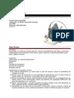 Respirador Media Cara Serie 6000 (6100-6200-6300)