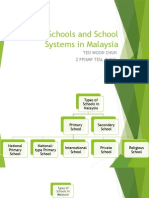 Types of Schools and School Systems in Malaysia