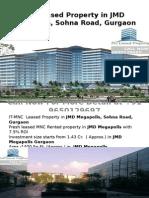 Rented- Property in JMD Megapolis Gurgaon-9650129697