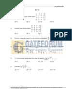 Engineering Mathematics- Sample Questions- Set-3