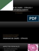 Síndrome de Churg – Strauss y Poliarteritis Nodosa