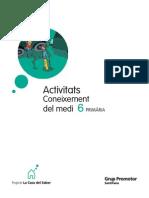 Activitats de Coneixement Del Medi 6è